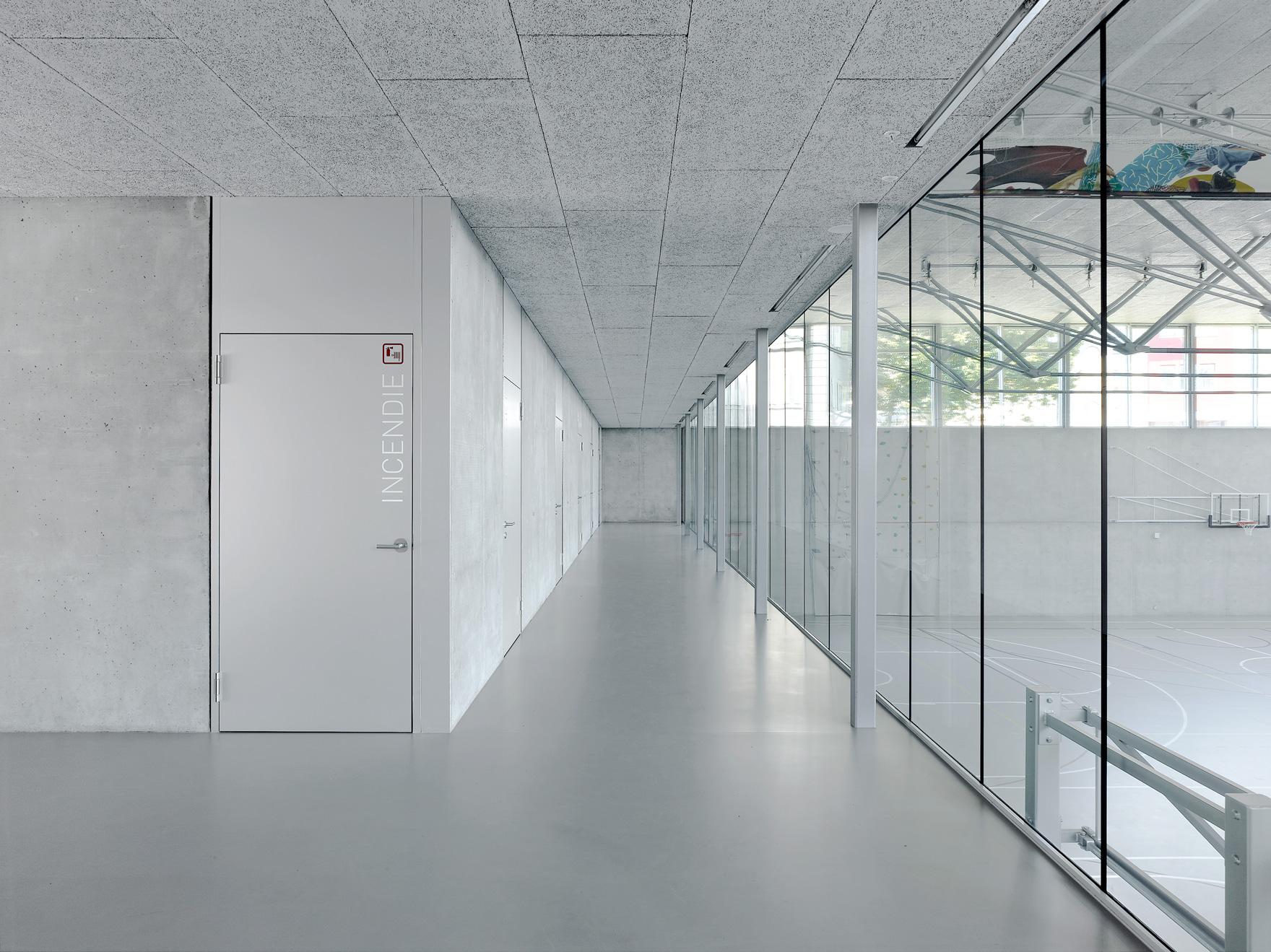 architecture école professionnelle Martigny