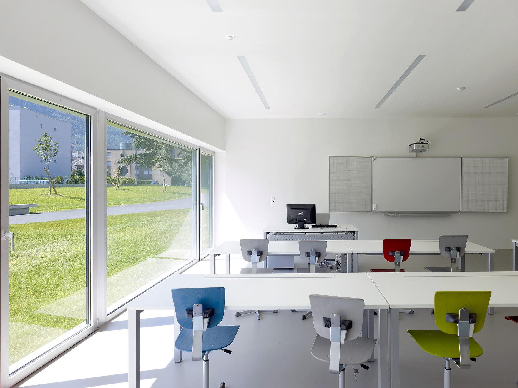 architecture école professionnelle martigny - atelier Game