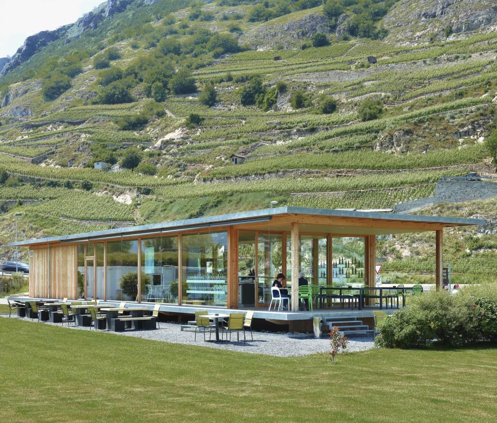Projet Pavillon Folterres - atelier d'architecture Game